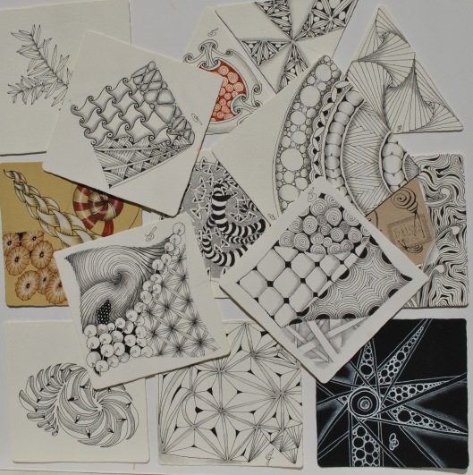 intro to zentangle tiles