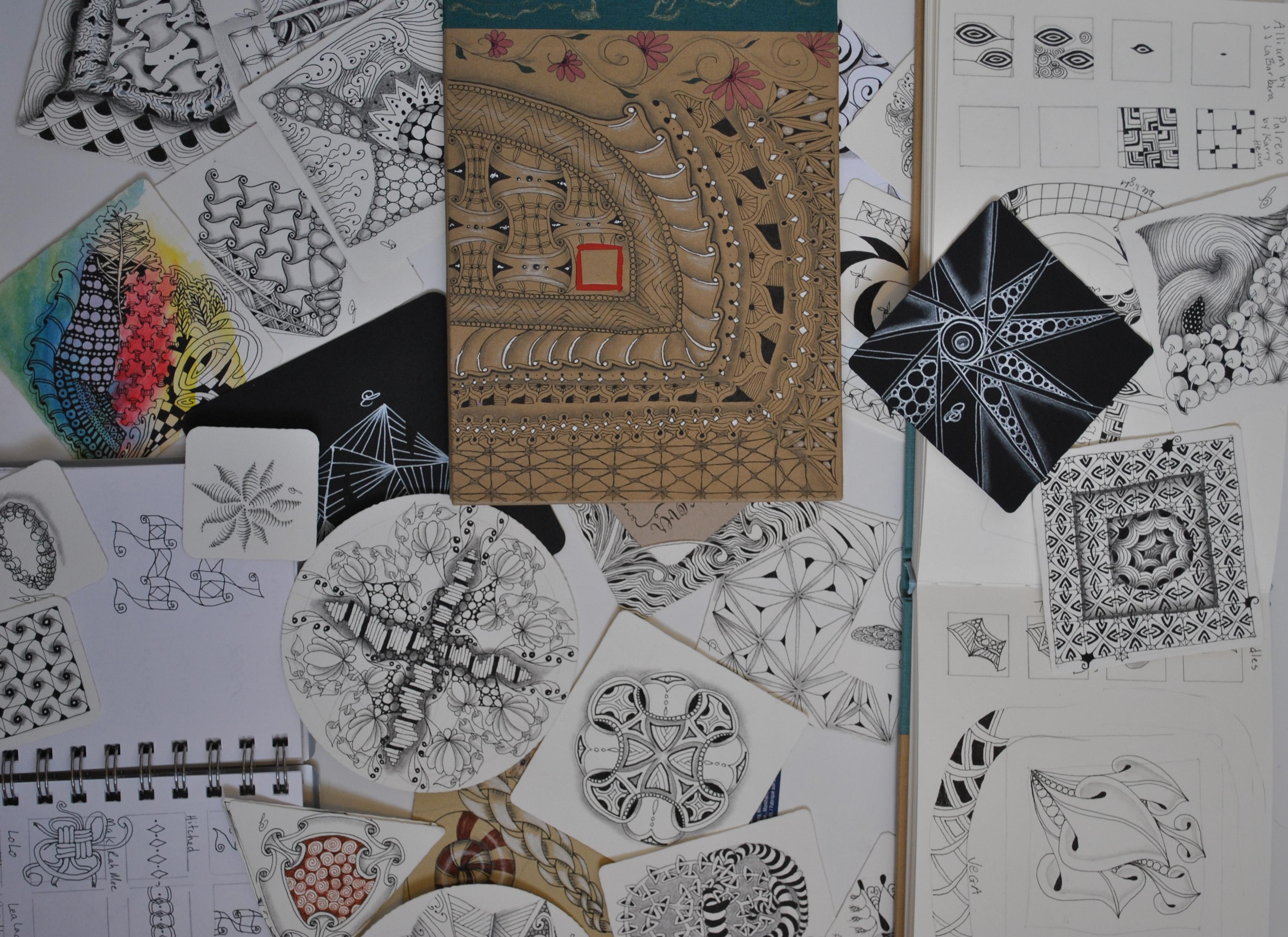 Zentangle journals