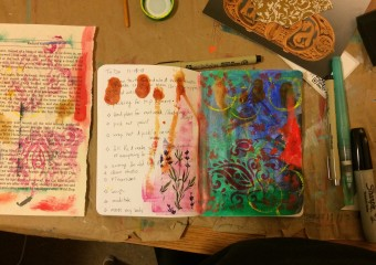 collage to do list in progress