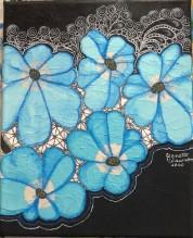SVA blue flowers